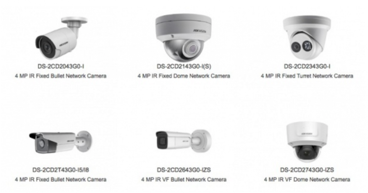 sady kamerových systémů
